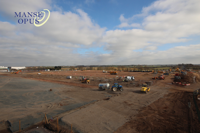Timelapse camera goes live at Prospero Ansty site