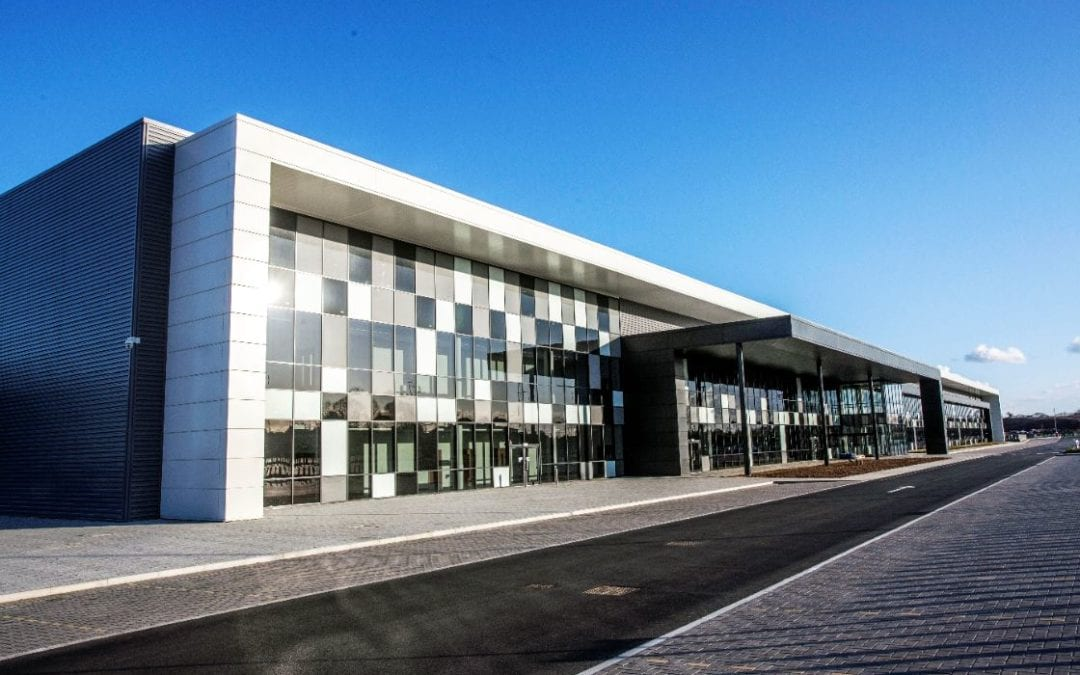 Meggitt PLC's award winning £44 million 'super facility' reaches practical completion at Manse Opus's, Prospero Ansty